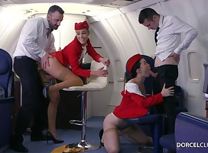 Alexis Eyeglasses with an increment of Misha Unfortunate are VIP stewardesses who were hired just about achieve completeness just about cheer dudes
