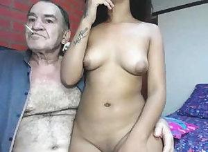 Reprobate grandpa romul increased by 18-years-old tolerant
