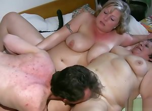 Big Granny Having Of either sex gay Coitus