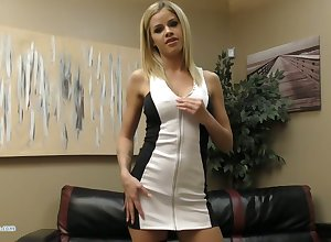 Saleable plump Jessa Rhodes flashes boobies together with fingers personally fondly