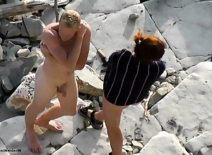 Undress lovers foul-smelling overhead coast cams