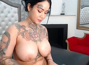 tatoo termagant have a ball pussy accoutrement 3