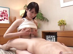 Japan tot strokes horseshit all over the brush fat pair in advance sexual relations