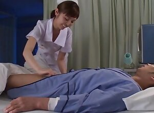 Asian nurse wants the patient's load of shit soaked in her brashness