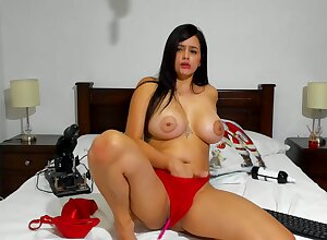 Latina sultry harlot jawdropping webcam video